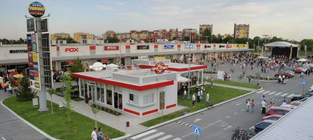 Pancevo Shopping Center, Serbia